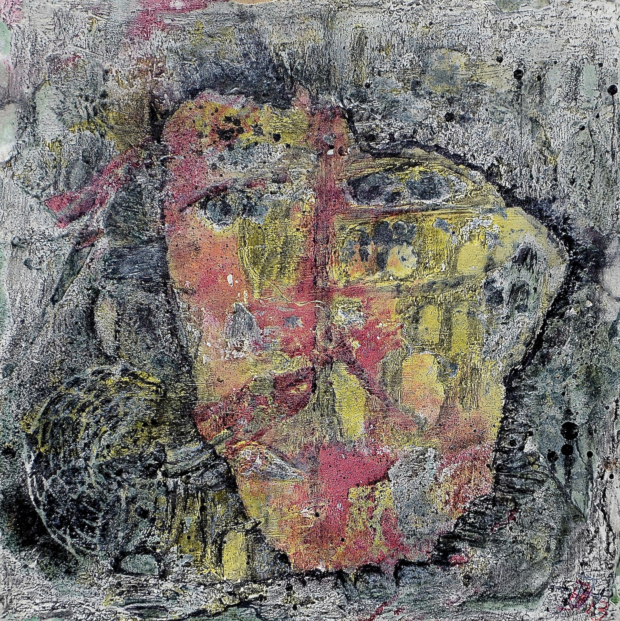 die muschel 6,acryl auf MDF,15x15cm,2013.JPG