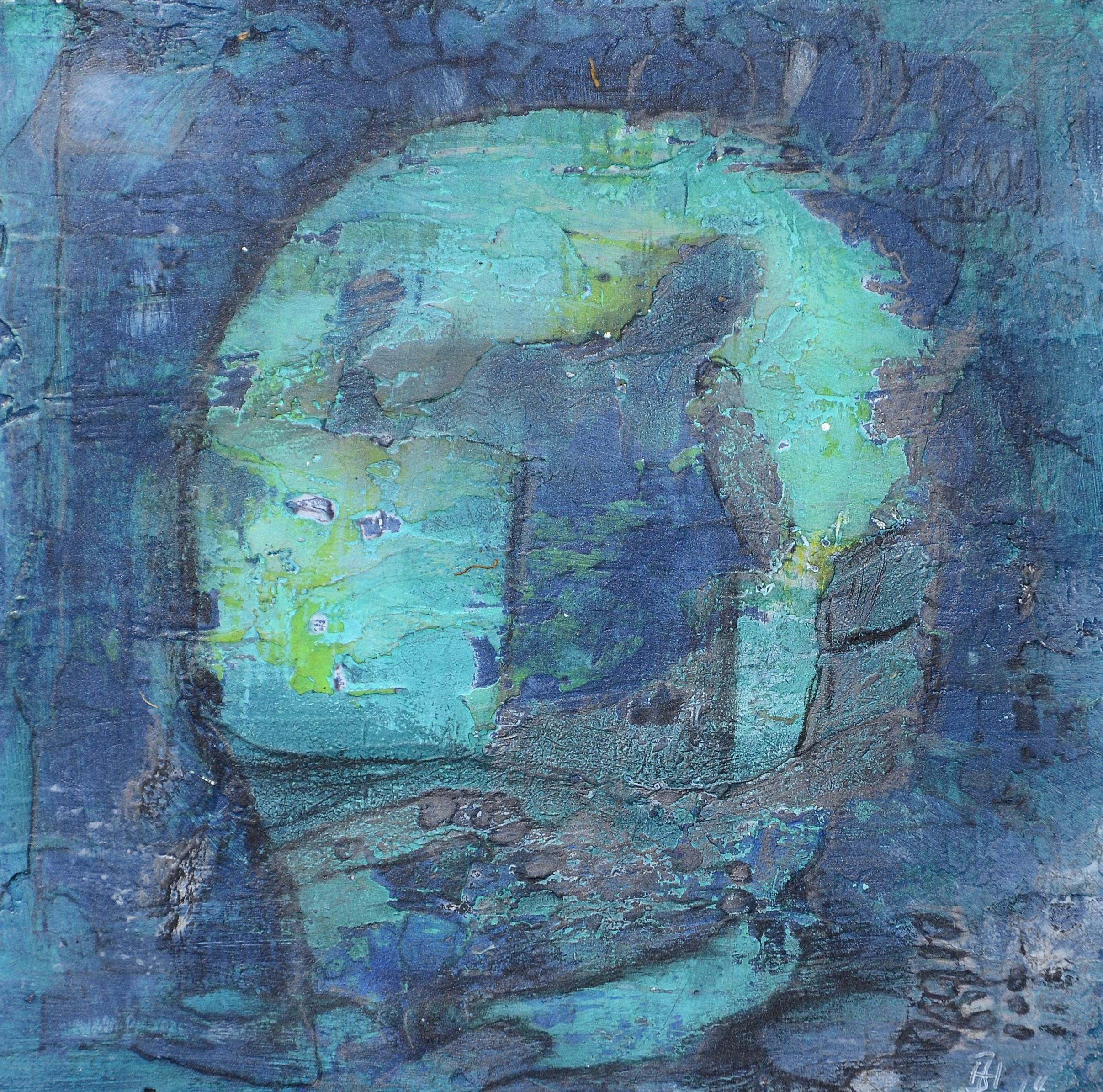 die blaue grotte,acryl auf MDF,15x15cm,2014.JPG