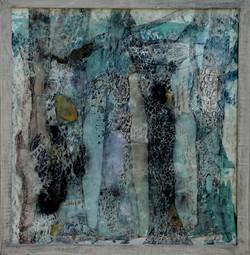 zauberwald (40x40,acryl auf MDF) 2012