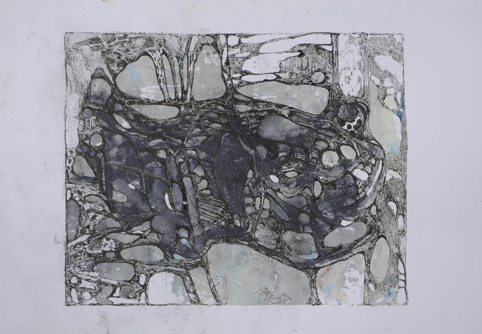 la vecchia tartaruga,acryl,tusche auf papier,din a 4 ,2015.JPG