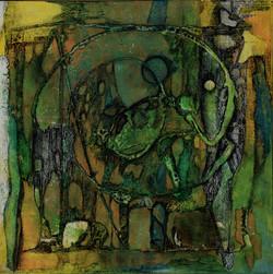 serpente,30x30cm,acryl auf MDF,2013