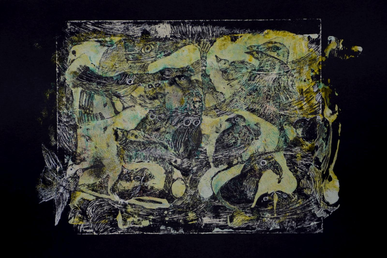 die_vögel,acryl,tusche_auf_papier,din_a_4_,2015.JPG