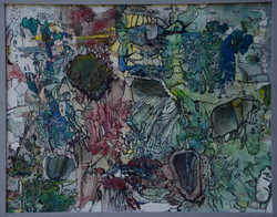 chaos mit durchblick,49x38,5cm,acryl auf holz,2011