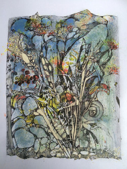the bird,acryl und tusche auf papier,din a 4,2016