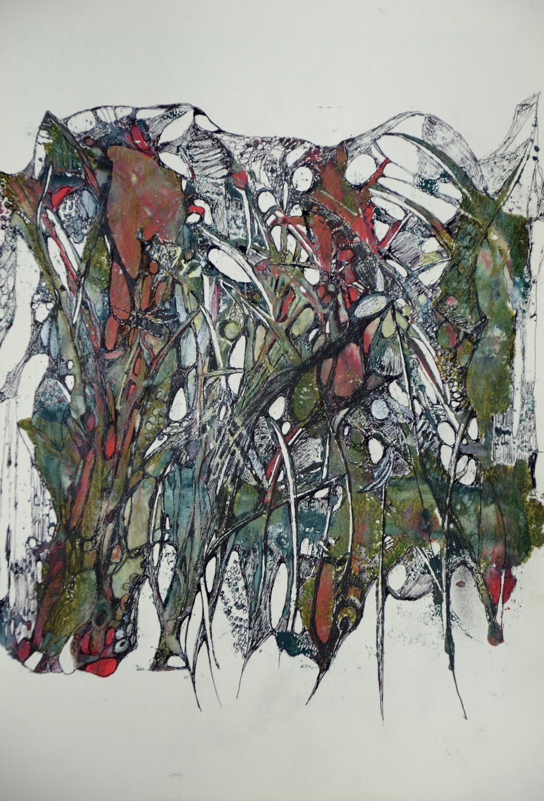 steinzeichen,acryl ,tusche auf papier,2015.JPG