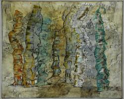 monumentenhügel,32,5x26,5_cm_acryl_auf_MDF,2012