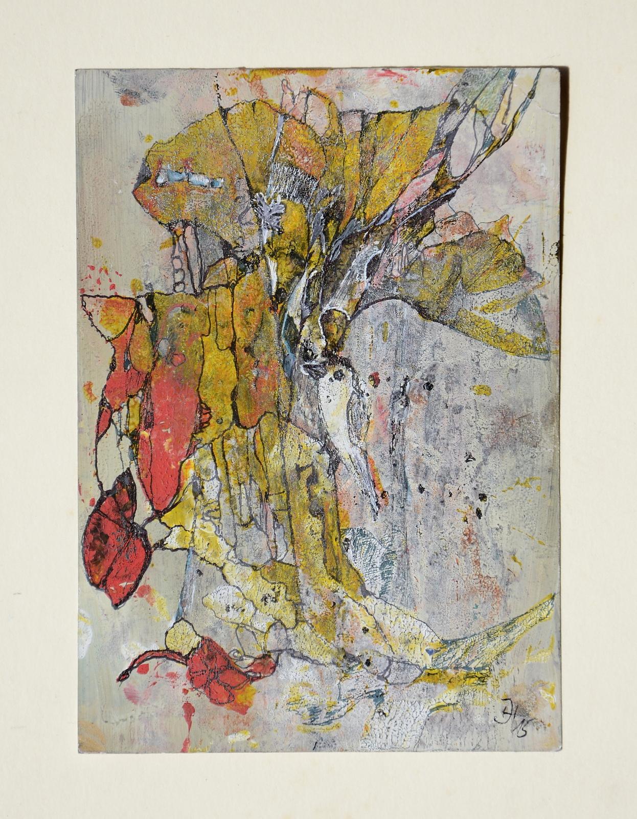 kleiner vogel,,10,5x 15 cm,acryl ,tusche auf papier,2015.JPG