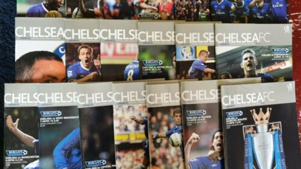 CHELSEA FC 2004/05 HOME PREMIERSHIP CHAMPIONS PROGRAMME COLLECTION