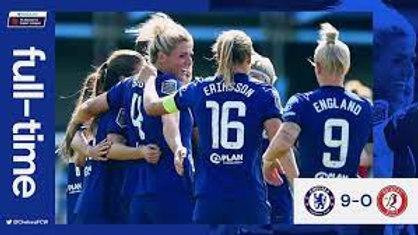 *CHELSEA WOMEN 9 v BRISTOL CITY WOMEN 0 2020/21 Women's Super League*