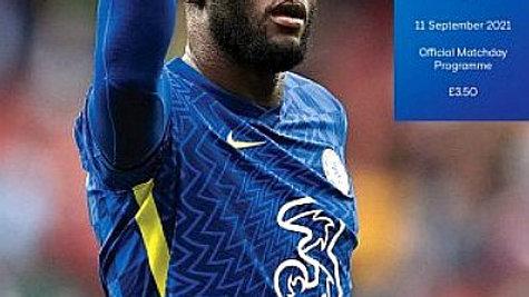 CHELSEA v  ASTON VILLA 2021/22 Premier League MATCHDAY PROGRAMME