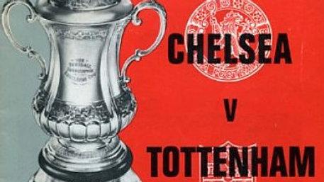 *CHELSEA 1 v TOTTENHAM HOTSPUR 2 1966/67 F.A. Cup FINAL*