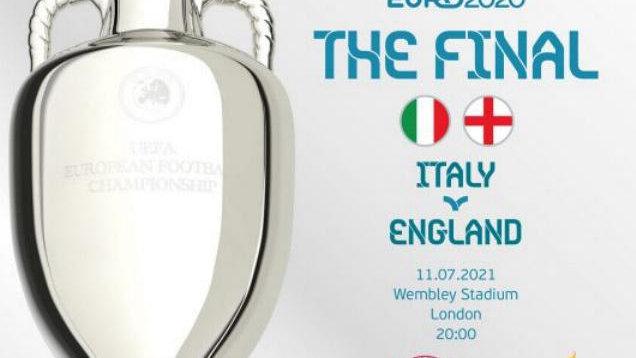 *ITALY 1 v ENGLAND 1 EURO 2020 Final*