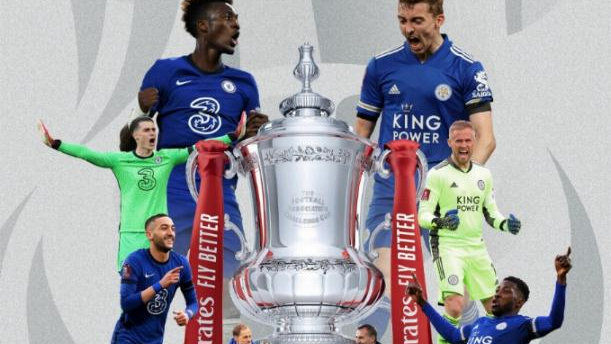 CHELSEA v LEICESTER CITY 2021 FA Cup Final MATCHDAY PROGRAMME