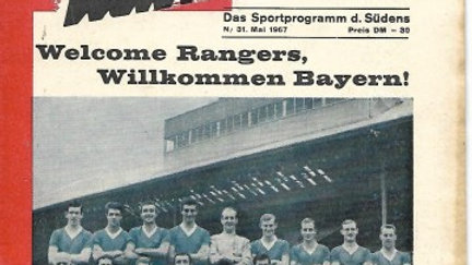 *BAYERN MUNICH 1 v GLASGOW RANGERS 0 1967 Cup Winners' Cup Final*