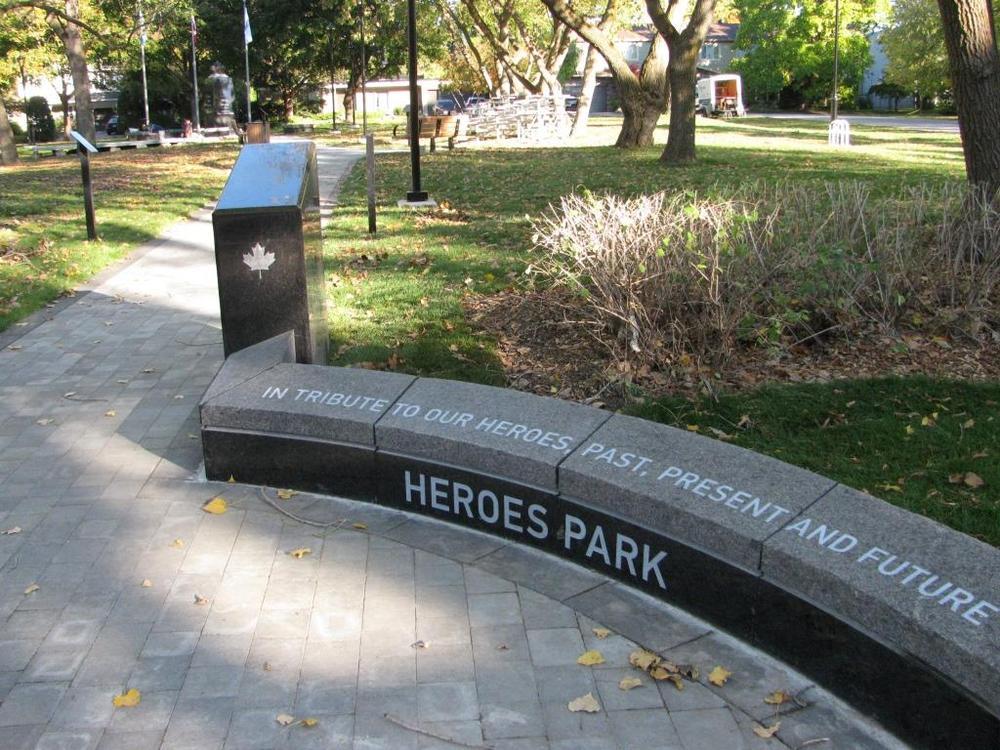 Parc des Héros, Qc
