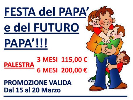 PROMOZIONE FESTA DEL PAPA'