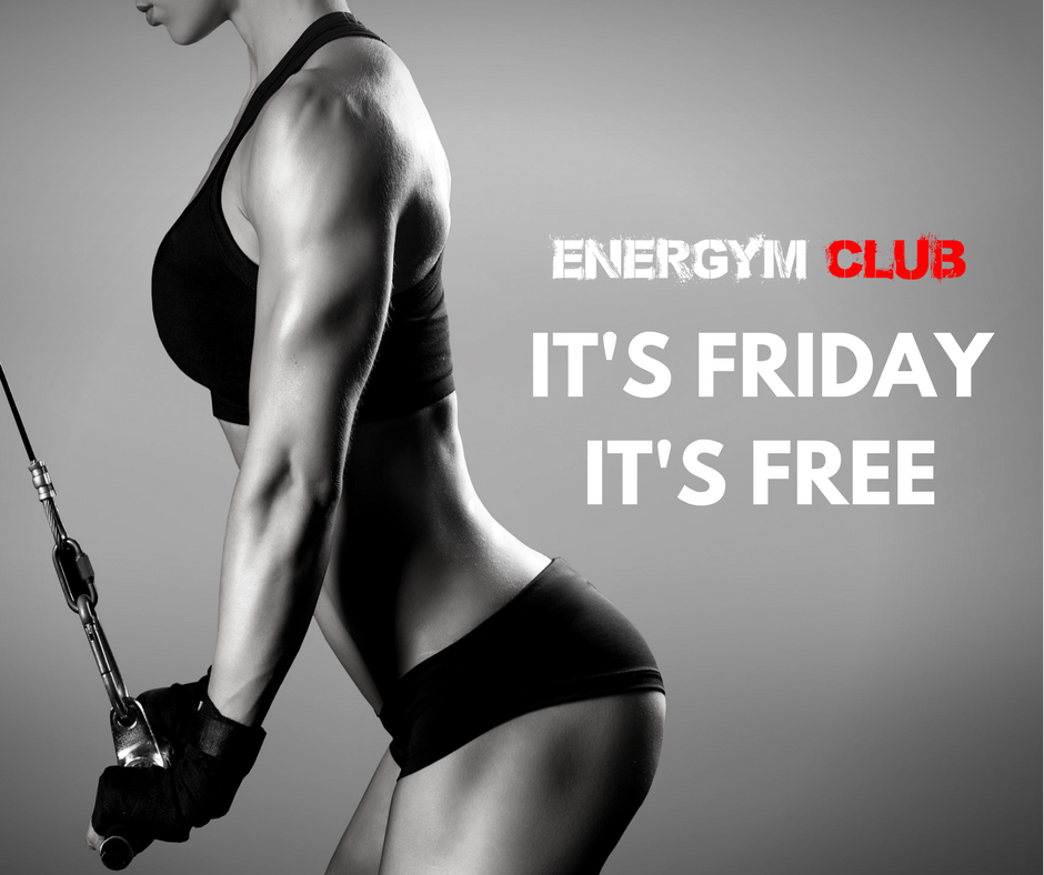 Friday it's free