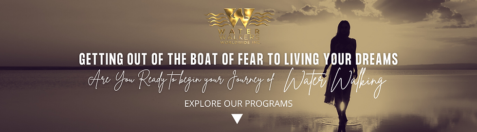 GETTING OUT OF THE BOAT OF FEAR TO LIVIN