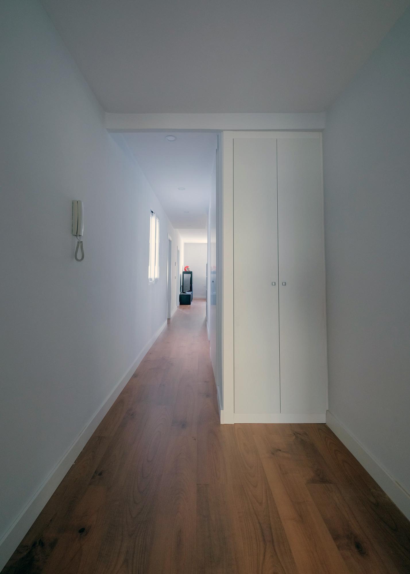 Reforma vivienda AL  pasillo