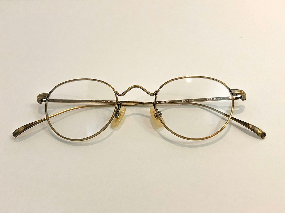 雑誌掲載 mina 金子眼鏡 オプティシァンロイド ロイド メガネ 原宿