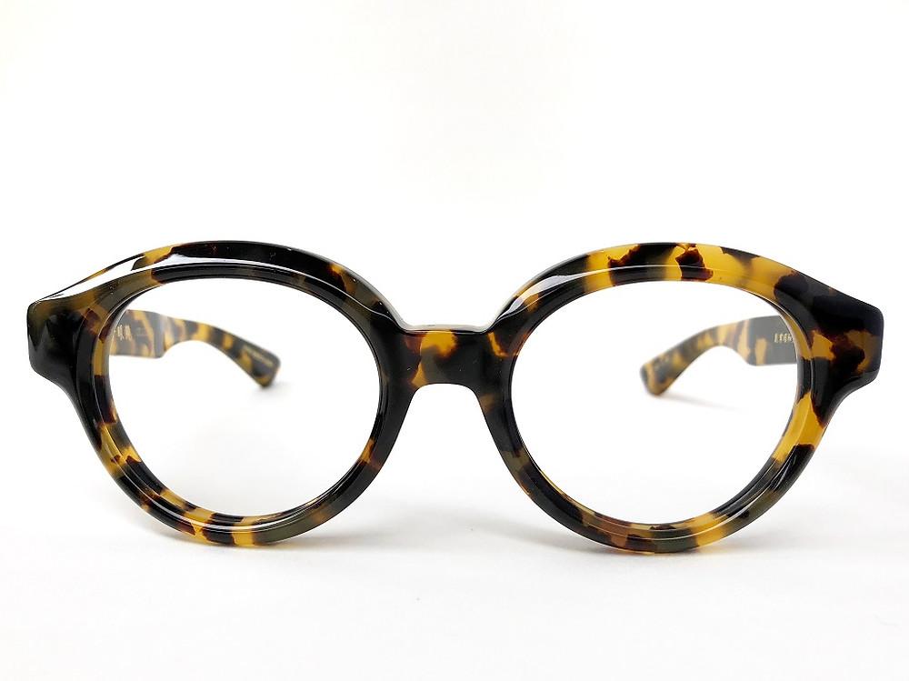 金子眼鏡 セルロイド オプティシァンロイド メガネ 原宿