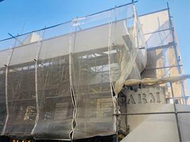 FARMビルは外壁修繕工事中です