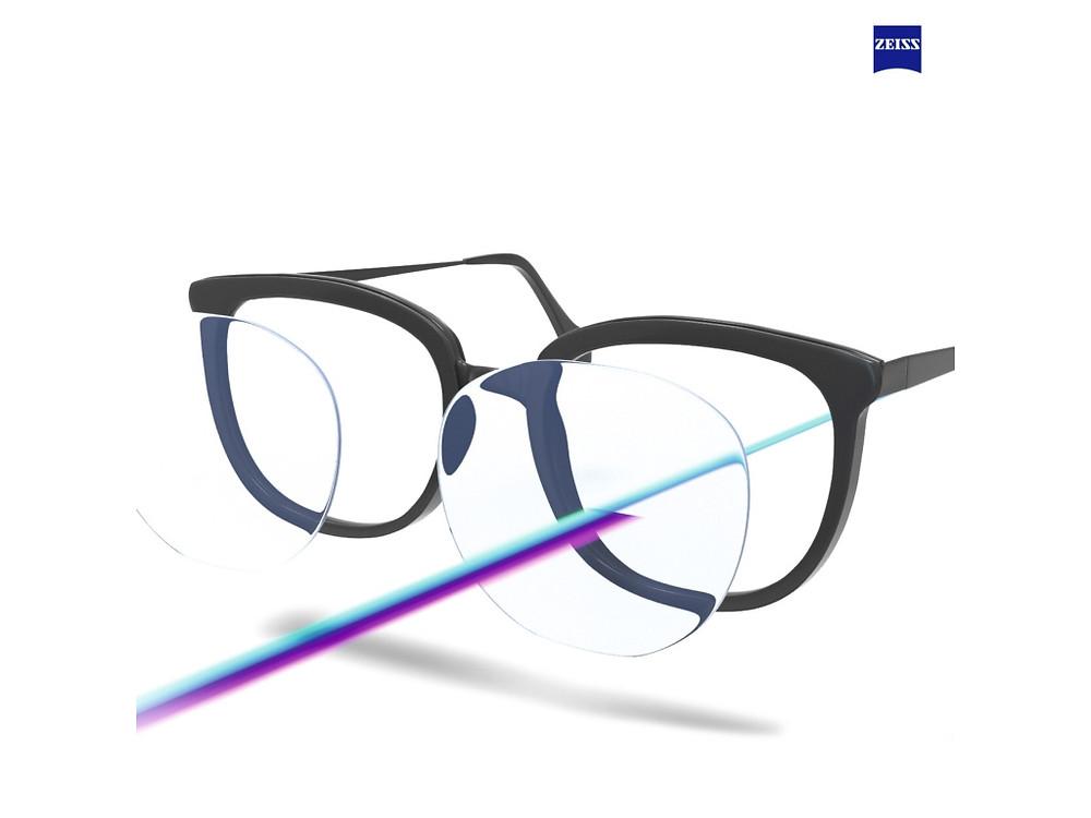 ZEISS 抗ウィルス ブルーガード 疲れ目対策 オプティシァンロイド ロイド 原宿 メガネ 金子眼鏡