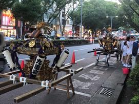 隠田神社祭り