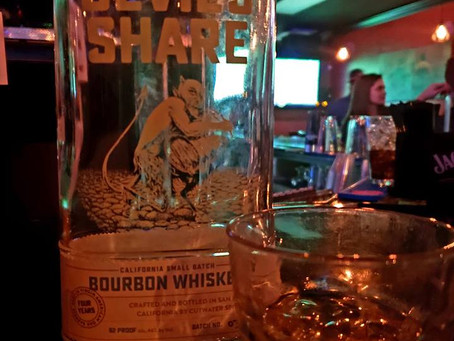 The Devil makes his bourbon in California