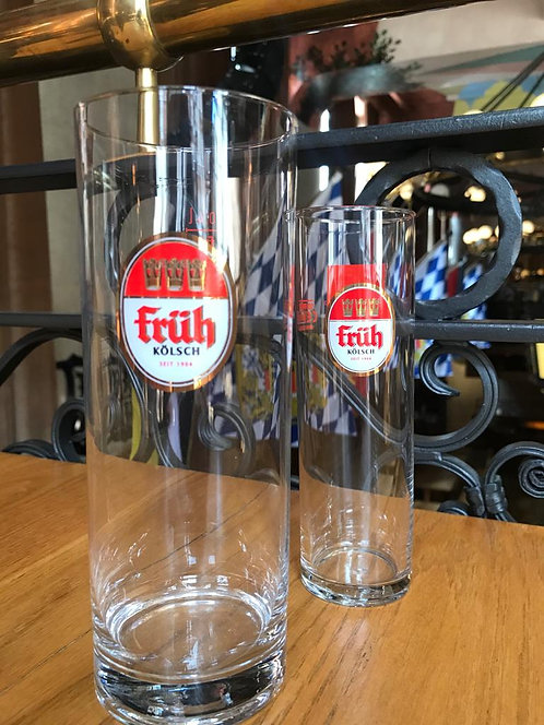 Large Fruh Kolsch Glass