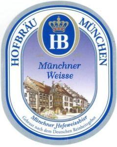 Hofbrau Munchener Weisse