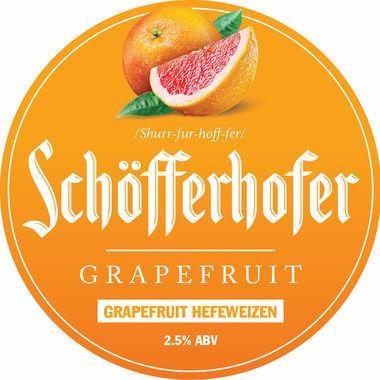 Schofferhoffer Grapefruit Weissbier