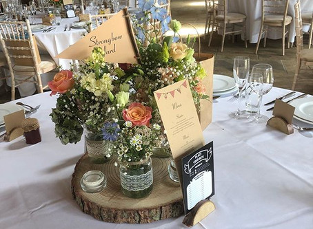 Rustic Table Center