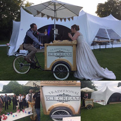#icecream #marquee #weddingdress #festivalwedding #bride #berkshire #hampshirebride