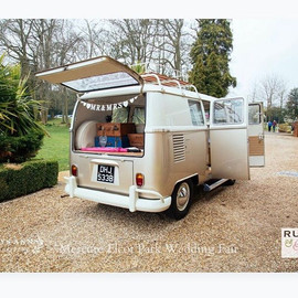 Why pick the boring car wedding transport!