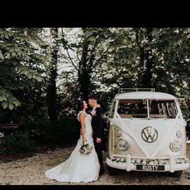 #romantic #weddingday #woodland #nature_perfection #splitscreen #splittyweddinghire #splitty #rustyandroses