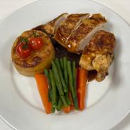 Roast Chicken breast with bone in