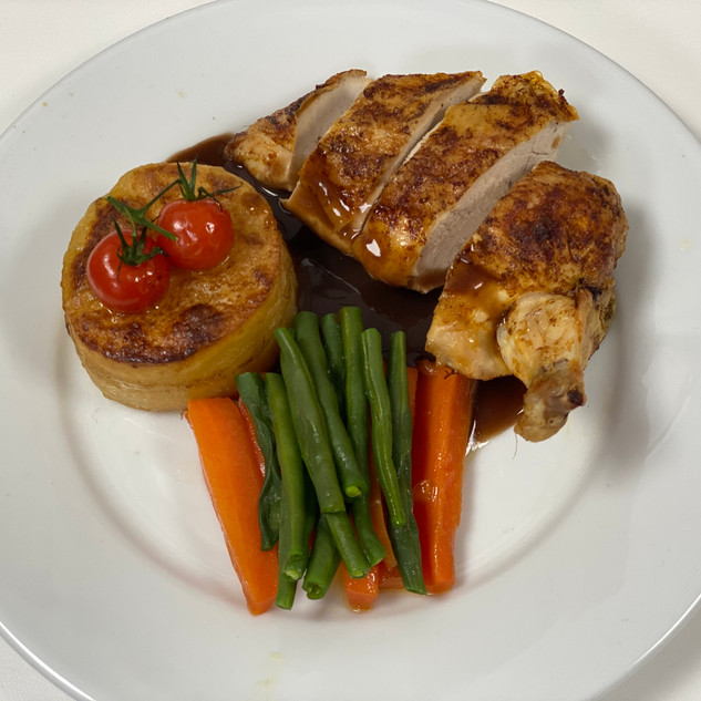 Roast Chicken breast with bone in