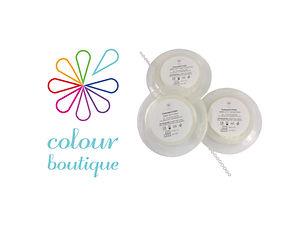 Colour Boutique Clear Elastomeric Chain-