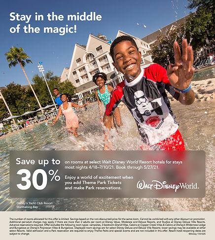 WDW_FY21_Peak Resort Room Offer_TAS_Webp