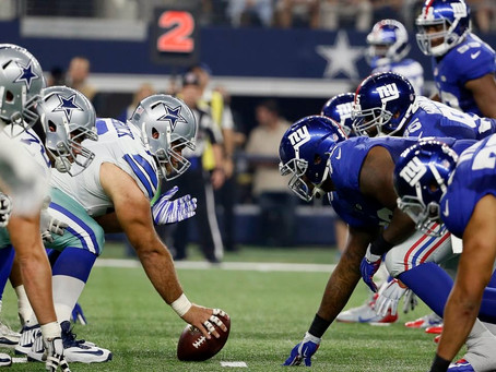 Dallas Cowboys vs New York Giants - week 17: preview and odds