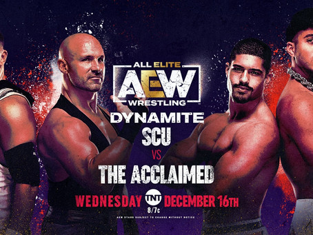 AEW Dynamite: all ready!
