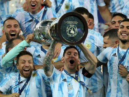 Argentina wins the Copa America!