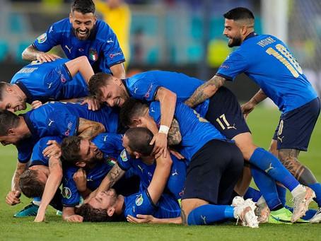 Italy wins Euro 2020!
