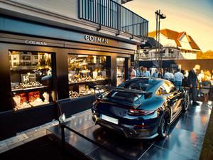 Colman x Porsche