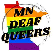 Minnesoat Deaf Queers Logo