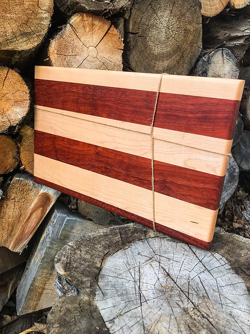 Maple & Paduak Cutting Board
