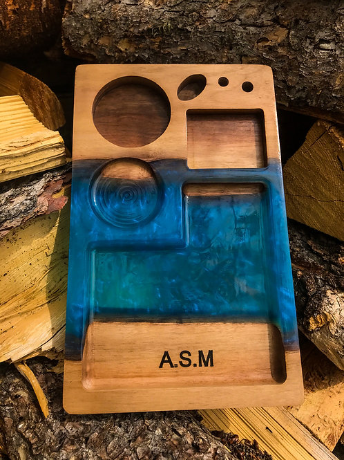 Made to Order Rolling Tray - Compartments