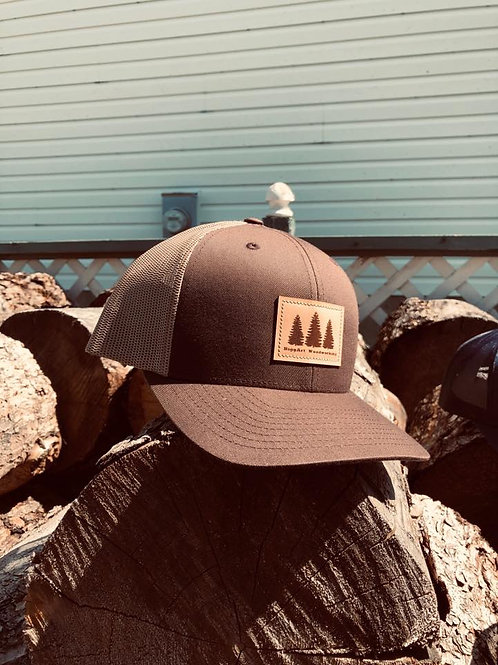BiggArt Woodworking Hat - Brown