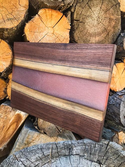 The Original River Board - Walnut & Silver Red